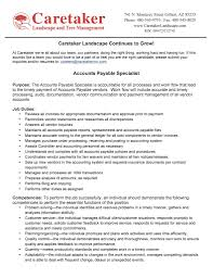 Staff Accountant Resume Samples by Accounts Payable Clerk Objective Virtren Com