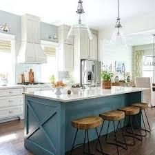 Decorating A Kitchen Island Island Kitchens Best Blue Kitchen Island Ideas On Blue Kitchen