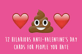 anti s day cards sarcastic valentines day cards valentines day 2018
