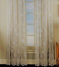 Pine Cone Lace Curtains Ivory Lace Curtains Ebay