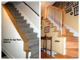 Staircase Renovation Ideas Beth Being Crafty House Renovations