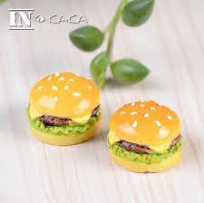 aliexpress buy resin mini artificial food hamburger home