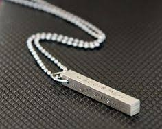personalized mens necklaces men s steel bar jewelry necklace men jewelry steel