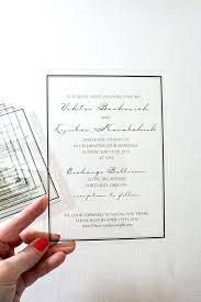 acrylic wedding invitations acrylic wedding invitations acrylic invitation acrylic invitation