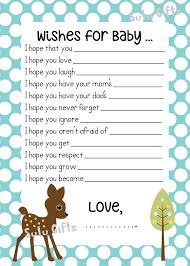 sale baby boy baby shower game wishes for baby advice by sulugifts