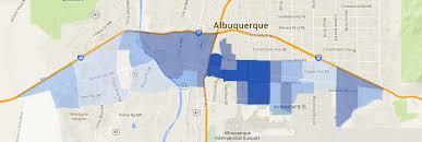 Albuquerque Map Abqgahp Demographic Maps