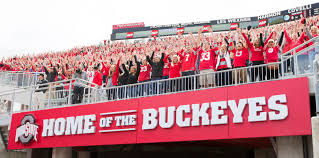 Ohio travel fan images The 10 best fan bases in college football of 2014 fan index jpg