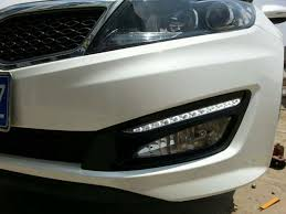 2013 kia optima led fog light bulb car styling for kia optima k5 2011 2012 2013 2014 led drl daytime