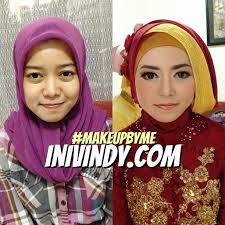 tutorial makeup natural wisuda ini vindy yang ajaib rias makeup natural dan hijab wisuda di kota