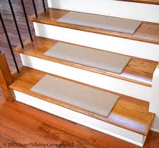 flooring white non slip stair treads on wooden stepping stair
