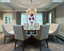 Two Tone Dining Room Paint Appealing Two Tone Dining Room Ideas Pictures Designing Idea Of