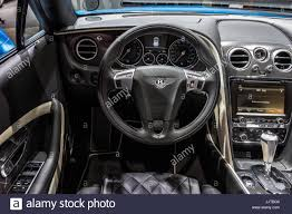bentley gtc interior frankfurt germany sep 16 2015 bentley continental gt speed
