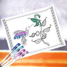 hummingbird coloring page a free printable coloring page for