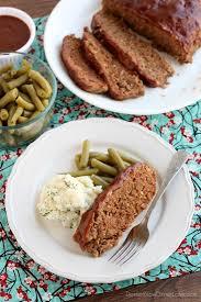 slow cooker meatloaf video dessert now dinner later