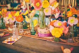 a colorful summer carnival wedding kate aspen blog