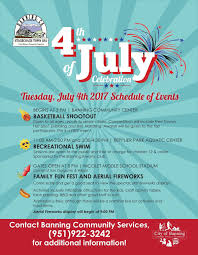 banning and beaumont july 4 fireworks guide 2017 displays