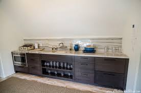 Built In Wet Bar Ideas Wet Bar Design Contemporary Media Room At The Beach With Kris