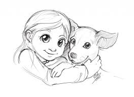 cute drawing of a puppy kina ink look at this cute puppy and his