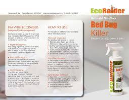 Killing Bed Bugs In Clothes Amazon Com Ecoraider Bed Bug Killer Spray 16 Oz Green Non