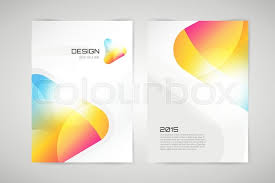 vector brochure template abstract arrow design and creative