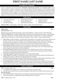 Mechanic Sample Resume by Automotive Engineer Sample Resume 7 Automotive Mechanic Resume