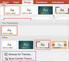 background themes mac customize and save a theme in powerpoint for mac powerpoint for mac