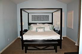 perfect pottery barn canopy bed decor modern wall sconces and