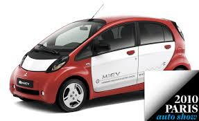 mitsubishi electric european spec mitsubishi i miev electric car to debut in paris