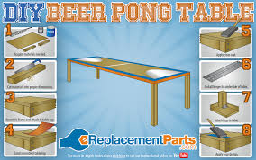 Build A Beer Pong Table Owareinfo - Beer pong table designs