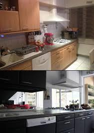 repeindre sa cuisine fasciné repeindre sa cuisine avant apres idées design à violet de