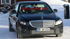 2018 mercedes benz c class facelift spy shots photo gallery autoblog