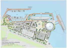 Map Of Long Beach First Look At Queen Mary Island The Proposed 250m Attraction At