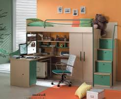 Twin Loft Bed With Desk Underneath Twin Loft Bed With Desk And Storage Brown Wooden Laminated White