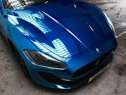 maserati quattroporte 2015 blue blue chrome maserati wrap by printdsign manchester uk printdsign