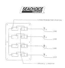 rocker switch panel 6 position seachoice 12501 iboats com