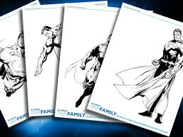 super villain coloring pages themed printables dc villains dc