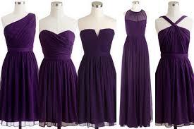 violet dress violet bridesmaid dresses