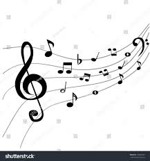 background music note stock vector 195861035 shutterstock