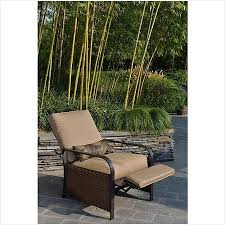 Wicker Reclining Patio Chair Wicker Reclining Patio Chair Inviting Woven Wicker Outdoor