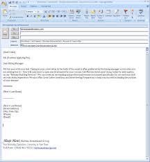 cover letter via email brilliant ideas of sle cover letter for sending resume via