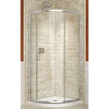 Sliding Shower Doors For Small Spaces Small Shower Stalls