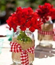 Western Style Centerpieces by Centerpiece For Farm Themed Birthday Party Parties Pinterest