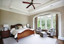 Crown Molding For Vaulted Ceiling by Curtains With Crown Molding Bedroom Traditional With Beige Walls