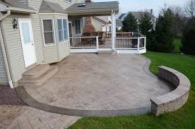 Concrete Backyard Design Top  Best Concrete Backyard Ideas On - Concrete backyard design ideas