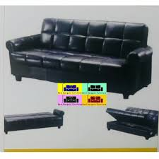 Leather Sofa Beds With Storage Faux Leather Storage Sofa Bed Best Bargain Furniture