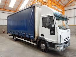 iveco cargo 75e17 4 x 2 7 5 tonne curtainsider 2005 ae54 jlv