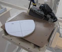an edge sanding table for your belt sander 7 steps