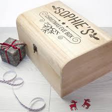 personalised christmas eve chest large u2013 shane todd gifts uk