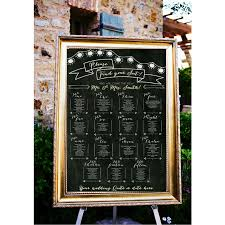 10 unique chalkboard wedding accents from etsy