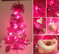 christmas pink christmas tree topper artificial trees